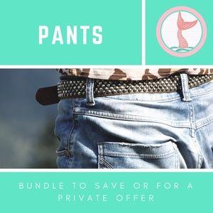 Pants - Ladies Pants